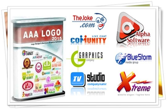 آموزش ساخت لوگو در نرم افزار AAA-logo maker