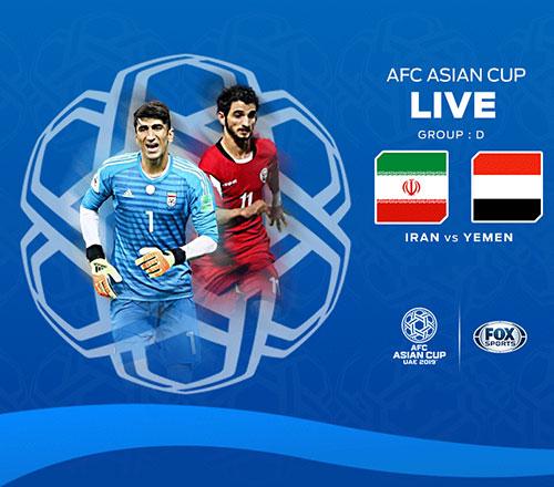دانلود رایگان مسابقه فوتبال تیم ملی ایران و یمن در جام ملت های آسیا 2019