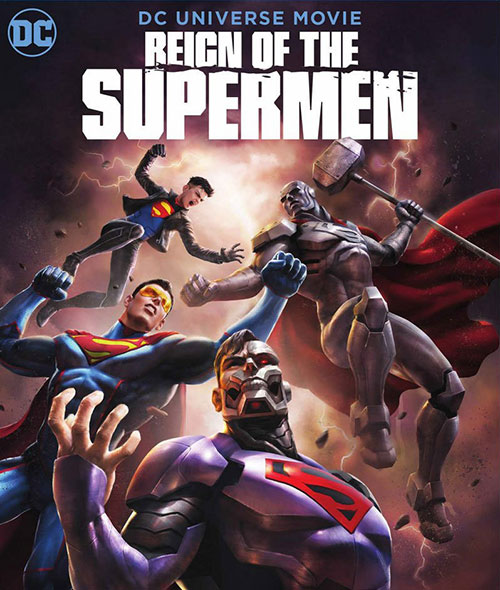 دانلود انیمیشن سلطنت سوپرمن Reign of the Supermen 2019 WEB-DL