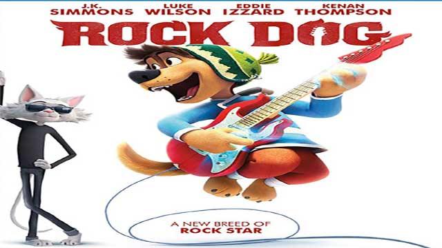انیمیشن سگ آواز خوان دوبله Rock Dog 2016