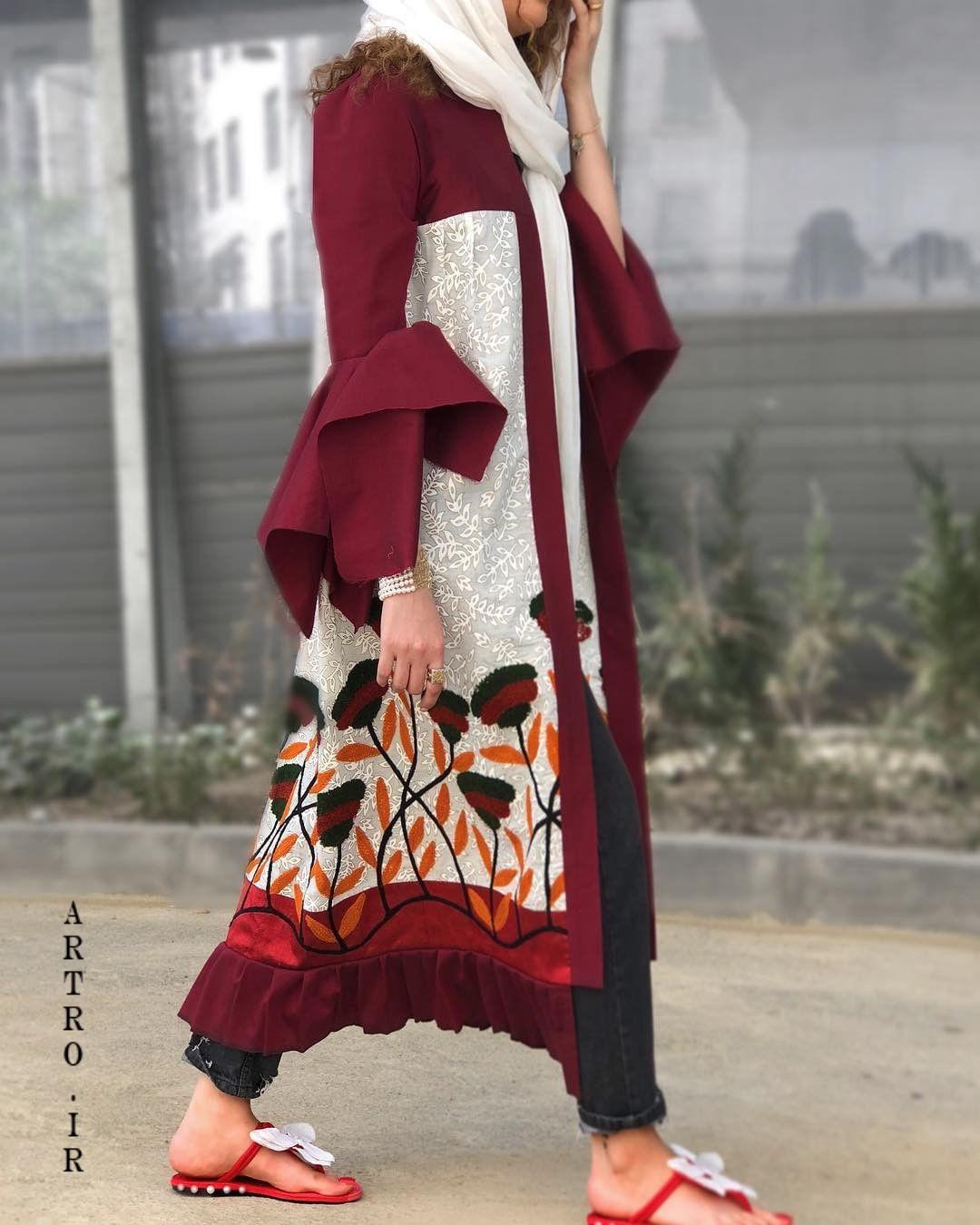 مدلهای مانتو بهاری و عید 98
