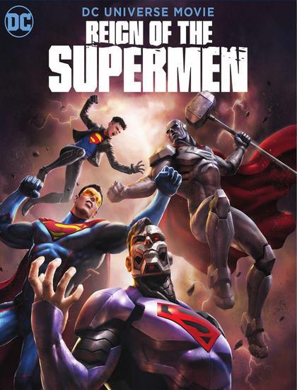 دانلود انیمیشن حکمرانی سوپرمن ها 2019