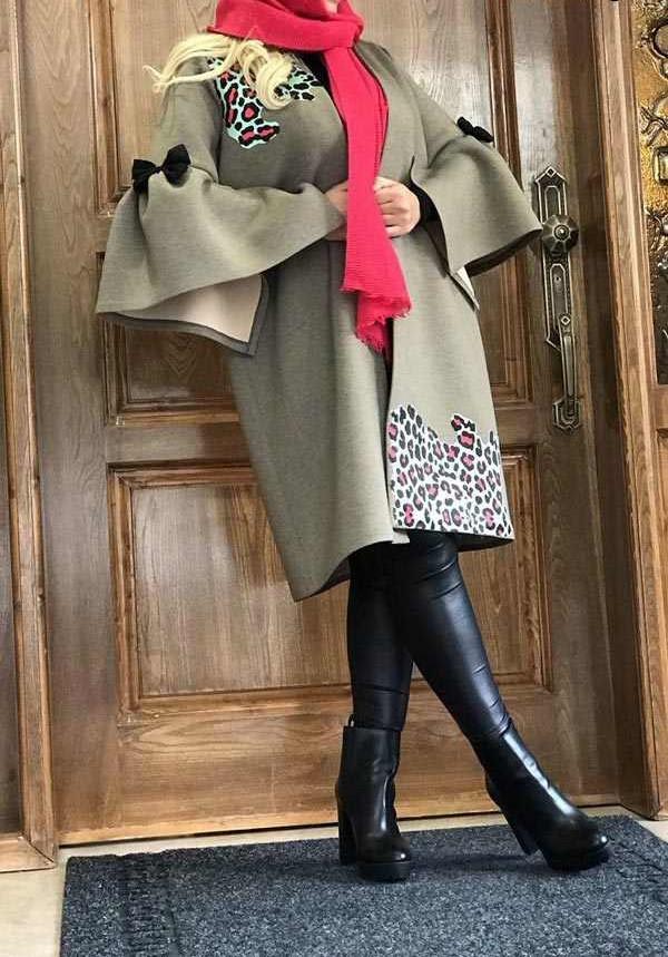 مدل پالتو و مانتو شیک زنانه 2019