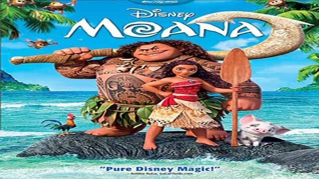 انیمیشن موانا ۲۰۱۶ -دوبله -Moana 2016