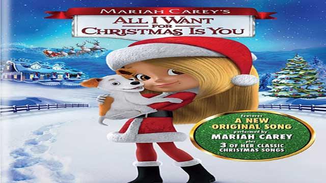 انیمیشن آرزوهای آنا برای کریسمس 2017 دوبله- Mariah Carey's All I Want for Christmas Is You 2017