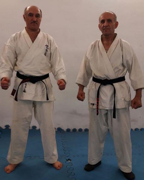 استاد میربلوکی بنیانگذار کاراته در لاهیجان