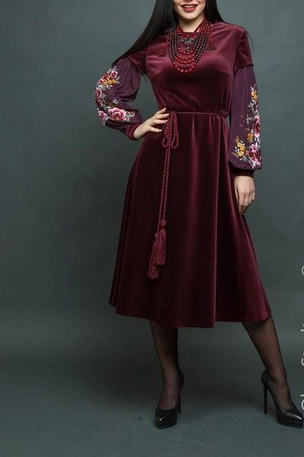 مدل لباس مجلسی بلند مخمل زنانه 98