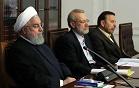 قهر روحانی در جلسه شورای عالی فضای مجازی