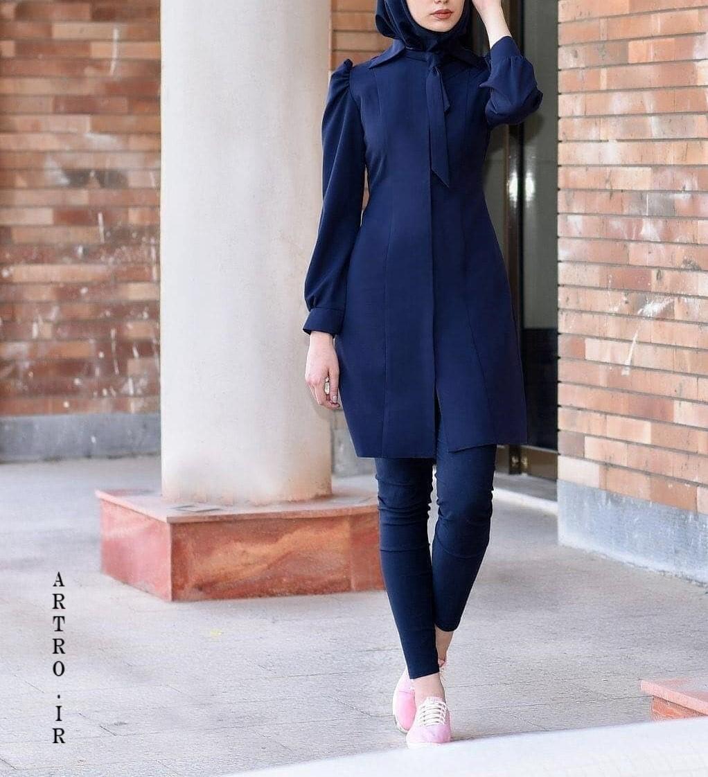 مدل مانتو اسپرت دخترانه جدید