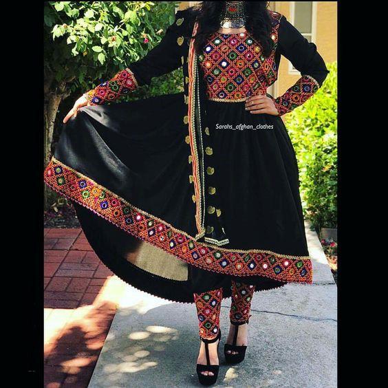 مدل مانتو افغانی سال نو