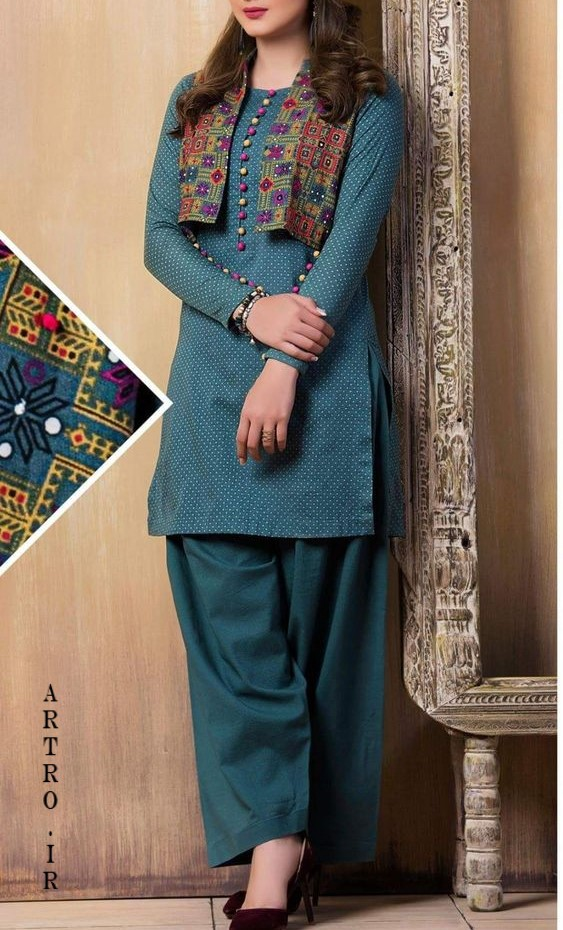 مدل مانتو افغانی جدید عید