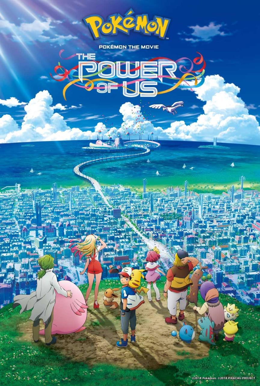 دانلود فیلم Pokemon The Power Of Us 2018