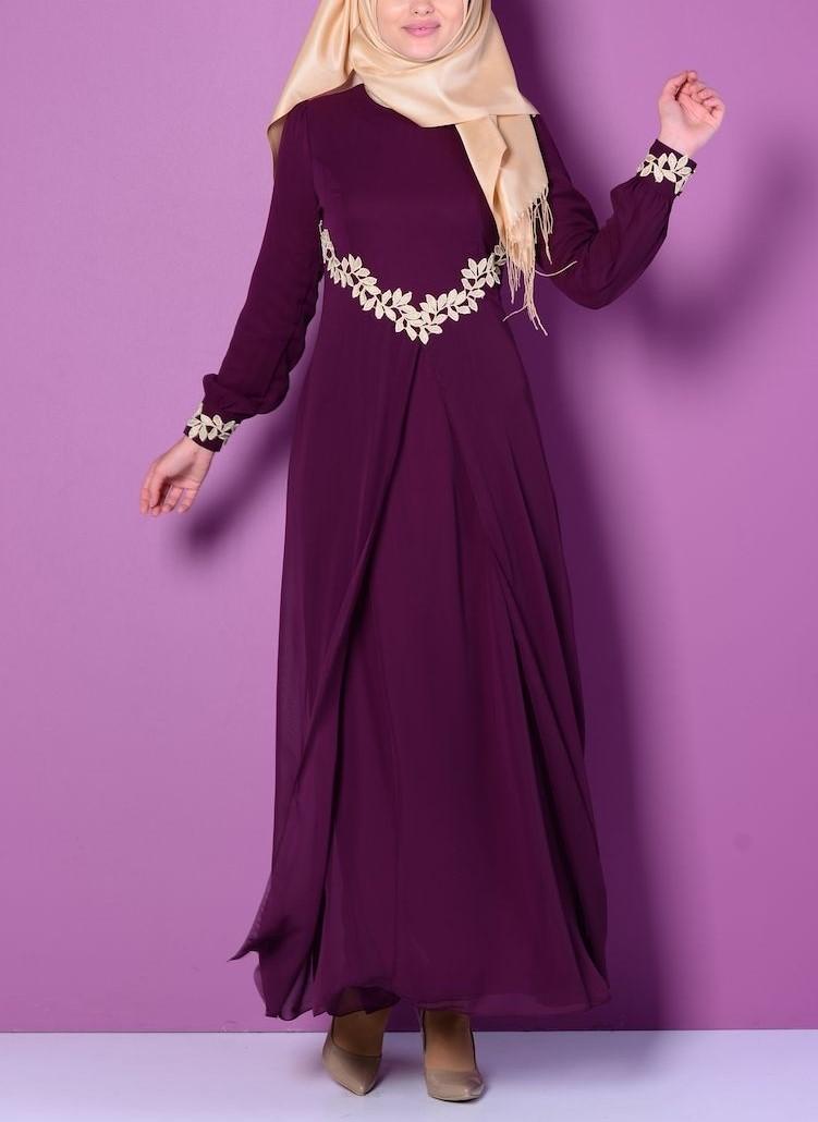مدل لباس مجلسی بلند دخترانه اینستاگرام