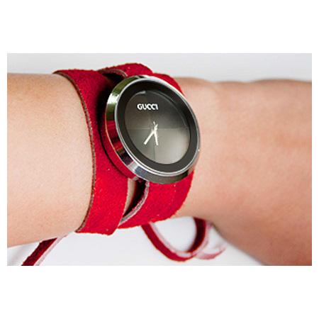 خرید ساعت مچی دخترانه گوچی دستبندی طرح لاو love