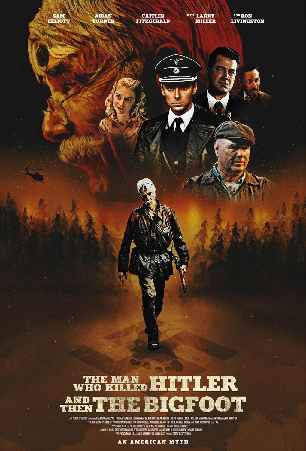 دانلود فیلم The Man Who Killed Hitler And Then The Bigfoot 2018