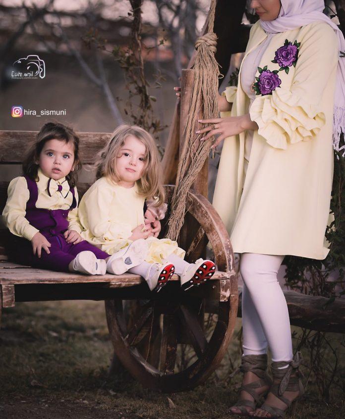 مدل مانتوی ست مادر و دختر