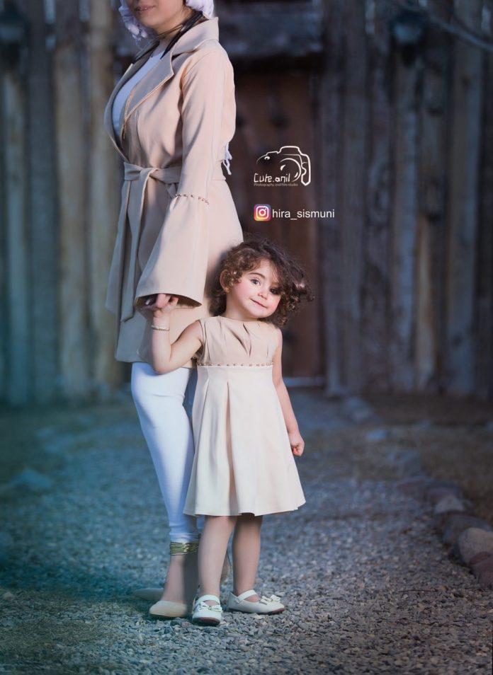 مدل مانتو مجلسی ست مادر و دختر