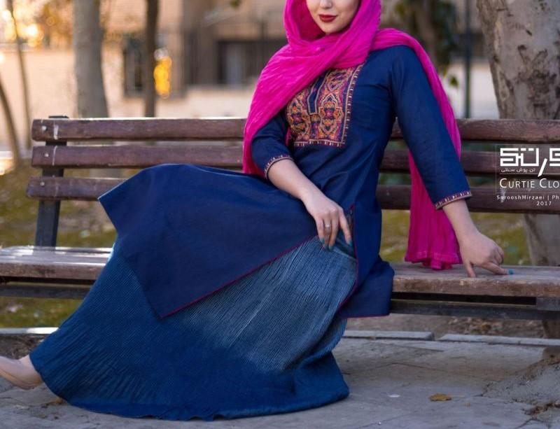 عکس مدل مانتو بهاری دخترانه