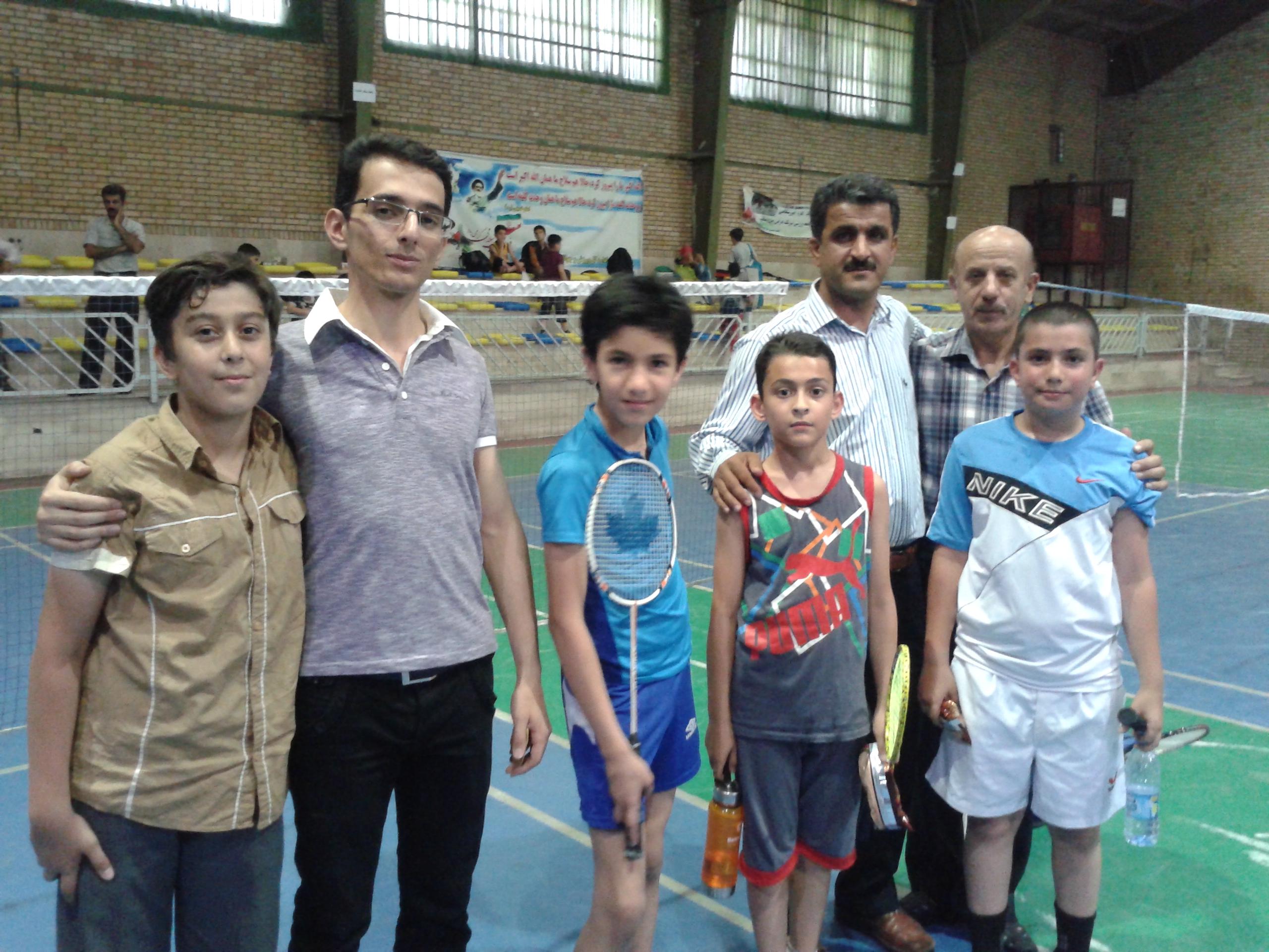 مسابقات انتخابی تیم نونهالان پسر بدمینتون قزوین