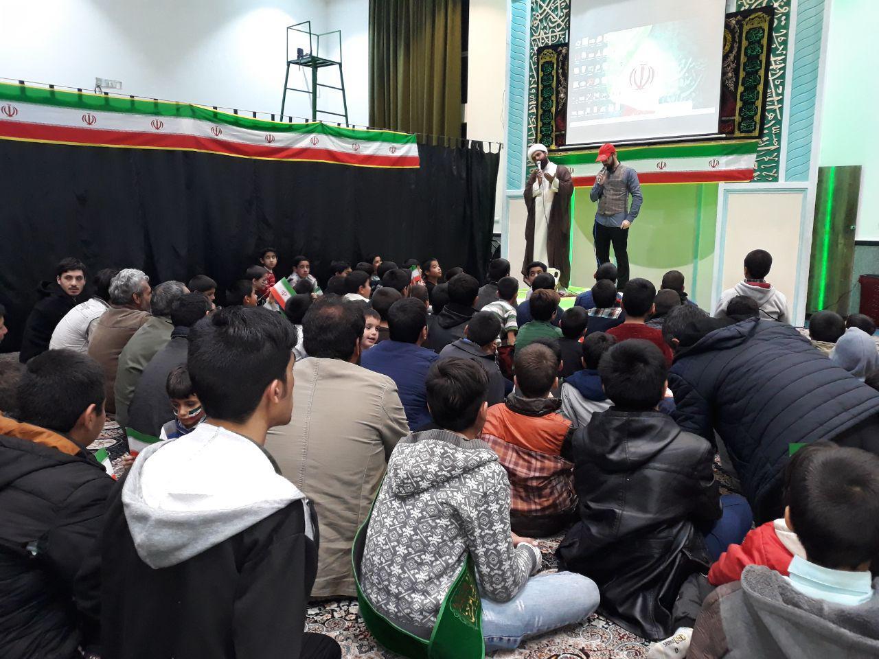 برگزاری جشن شب 22 بهمن