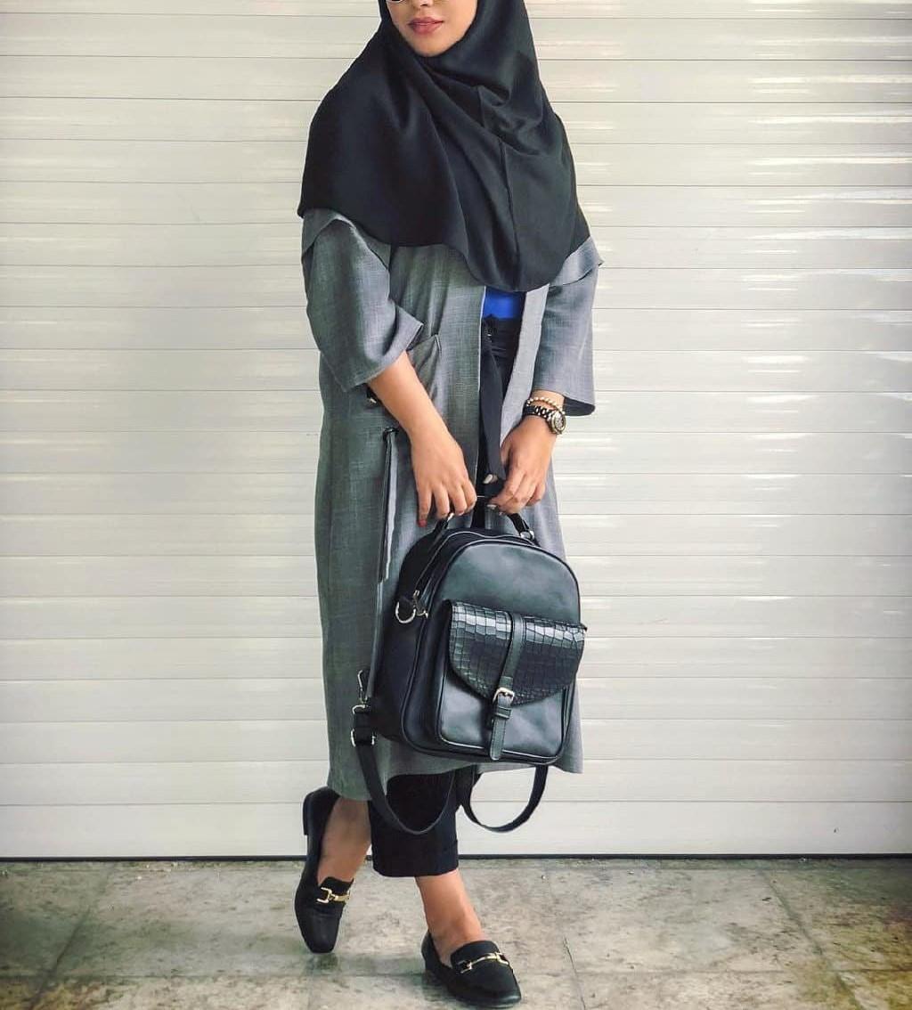 مدل مانتو دانشجویی دخترانه