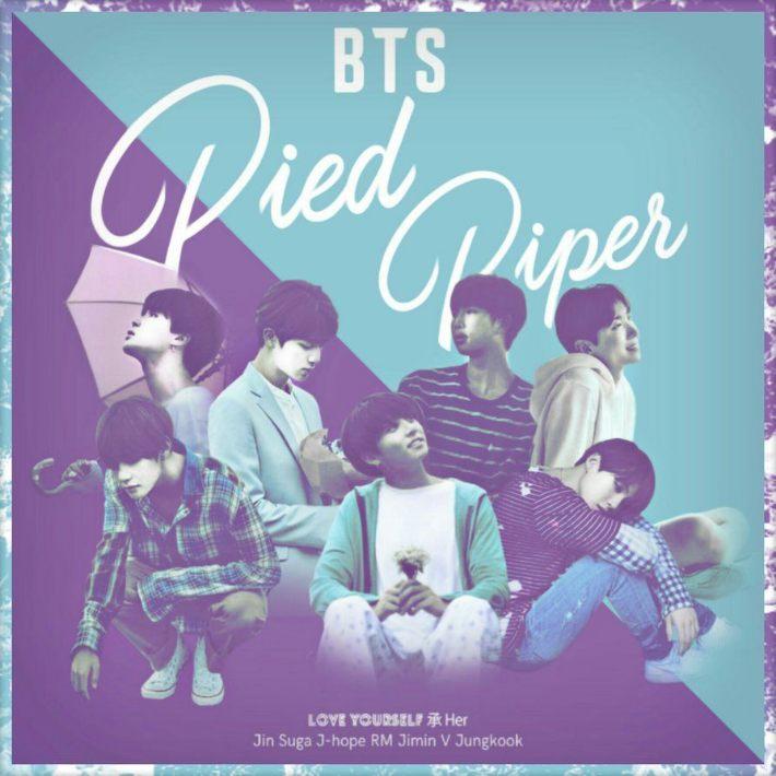 دانلود آهنگ Pied Piper از BTS بی تی اس با کیفیت عالی + ترجمه متن