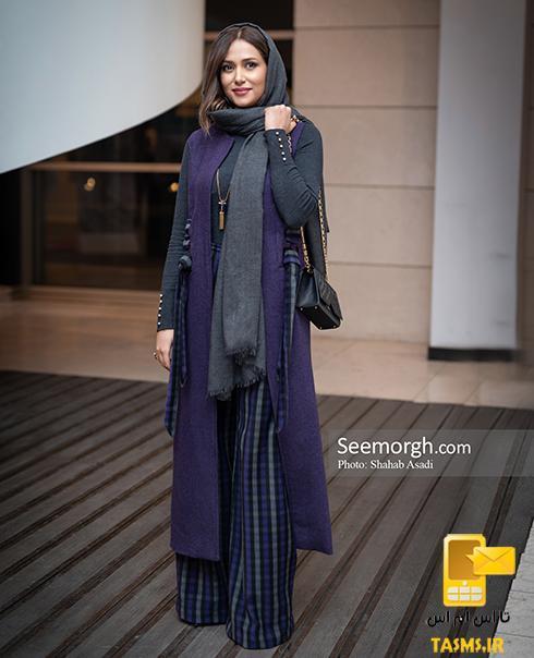 مدل مانتو بازیگران پریناز ایزدیار در جشنواره فجر و اینستاگرام 98