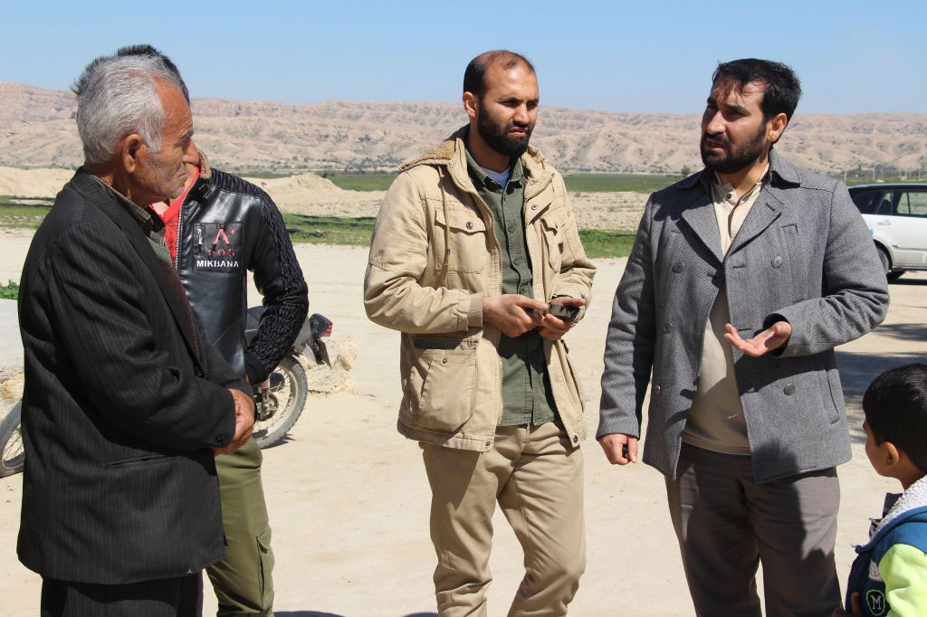امروز انجام شد؛ پیگیری مشکلات اساسی روستاهای بخش بوشکان توسط گروه جهادی افسران ولایت+تصاویر