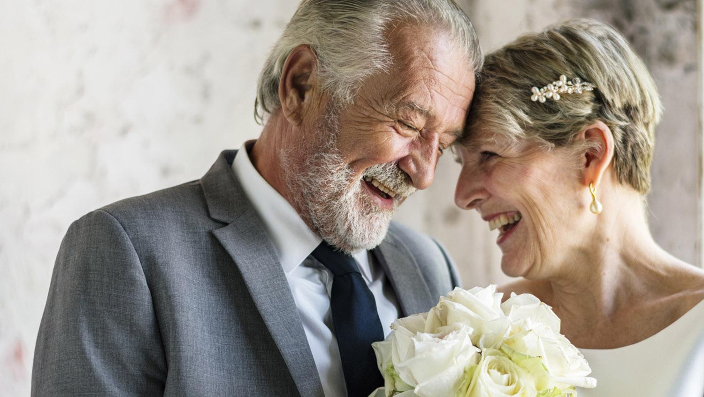 ازدواجی به رنگ پیری!