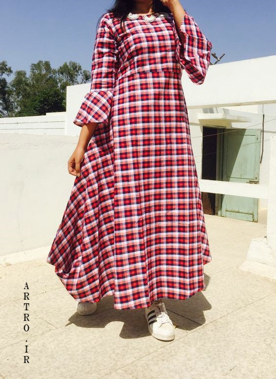 مدل مانتو جهارخونه جدید تابستانی