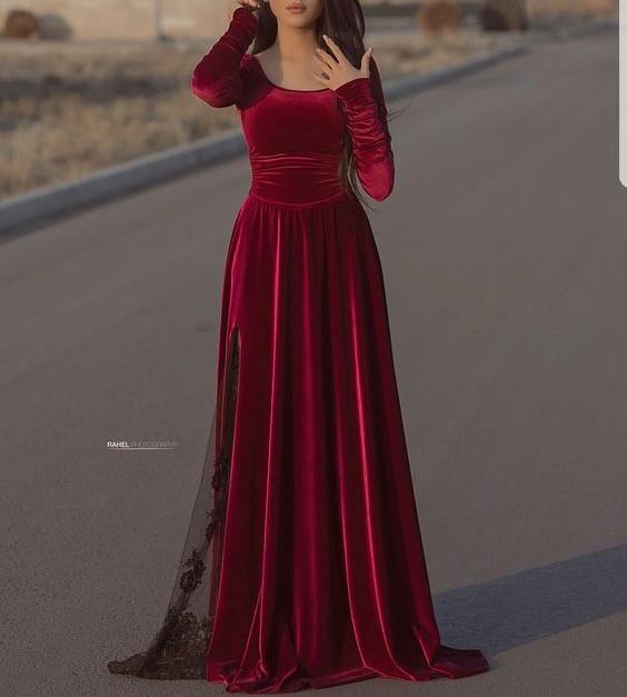 مدل لباس مجلسی بلند زنانه شیک