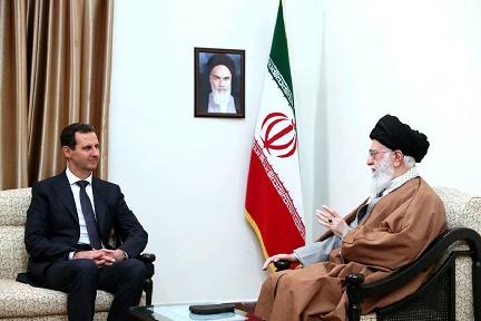 صبح روز گذشته بشار اسد بعد از 8 سال به دیدار امام خامنهای رفت