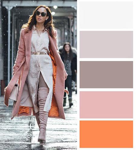 لباس های رنگی برای خانم ها, انواع لباس های رنگی برای خانم ها