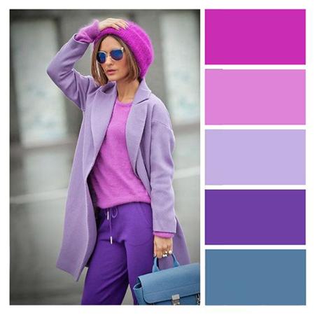 ترکیب رنگ های لباس های پاییزی خانم ها,جذاب ترین ترکیب های رنگی لباس برای خانم ها در پاییز