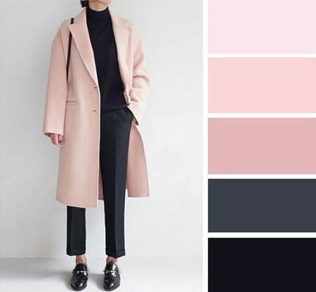 جذاب ترین ترکیب های رنگی لباس برای خانم ها در پاییز, لباس های رنگی برای خانم ها