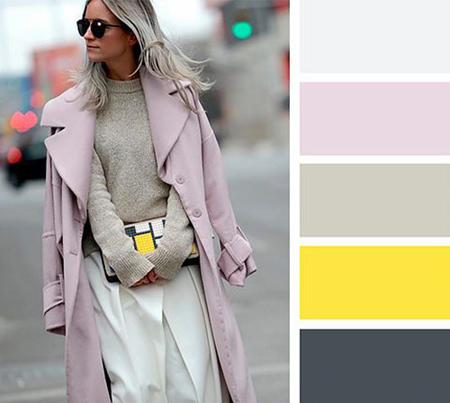 ترکیب رنگ های لباس های پاییزی خانم ها,رنگ های مناسب لباس های پاییزی
