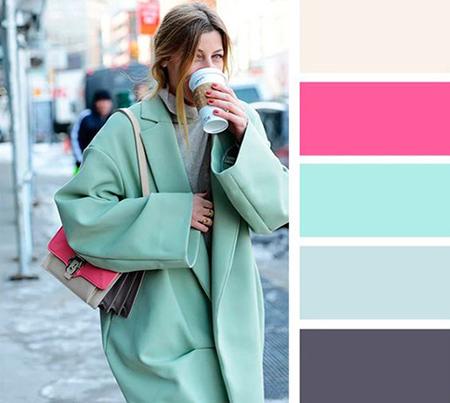 راهنمای انتخاب لباس های رنگی برای خانم ها,لباس های رنگی مناسب خانم ها