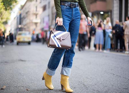 انواع مدهای جین در پاییز,مدل لباس جین