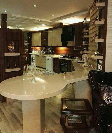 شیک ترین طراحی های آشپزخانه,آشپزخانه های مدرن