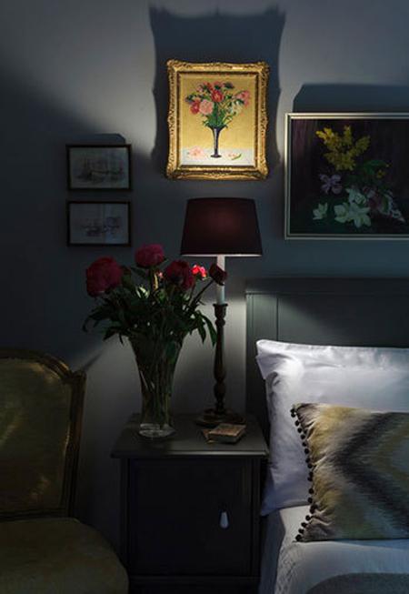 چیدمان دکوراسیون اتاق خواب,مناسب ترین چراغ های اتاق خواب