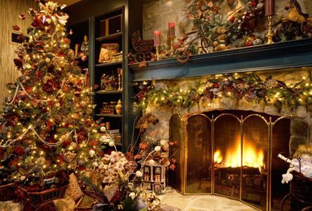 چیدمان درخت کریسمس,تزیین درخت کریسمس