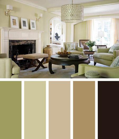 آشنایی با رنگ های آرامش بخش,ترکیب رنگ های آرامش بخش