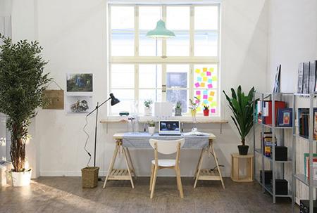 دکوراسیون محل کار در خانه,ایده هایی برای دکوراسیون محل کار در خانه