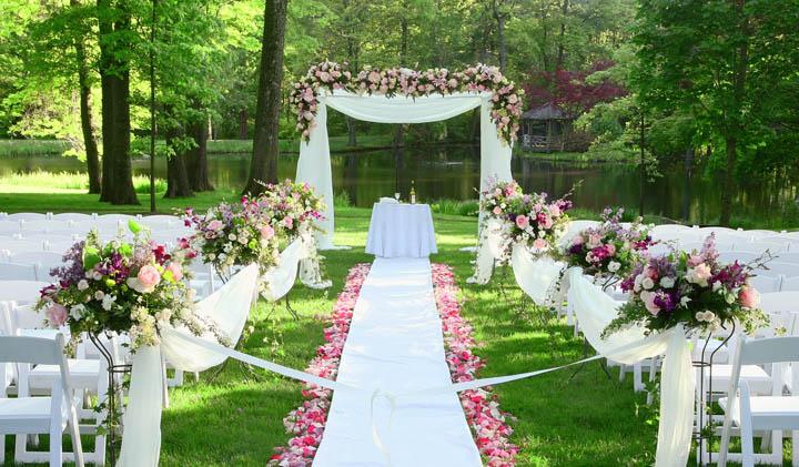 ویژگی های باغ عروسی