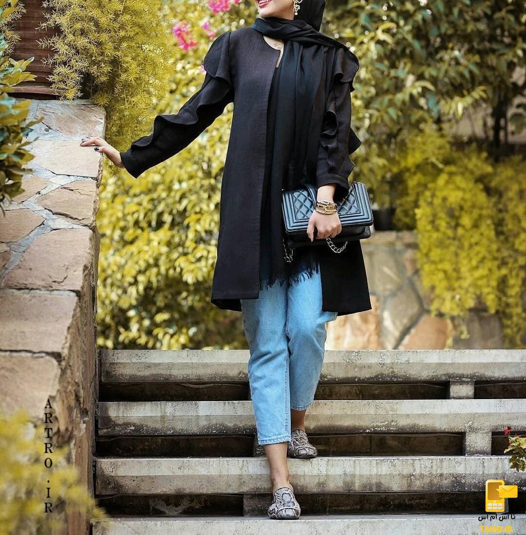 مدل جدید و شیک مانتو 2019 عید بهار 98