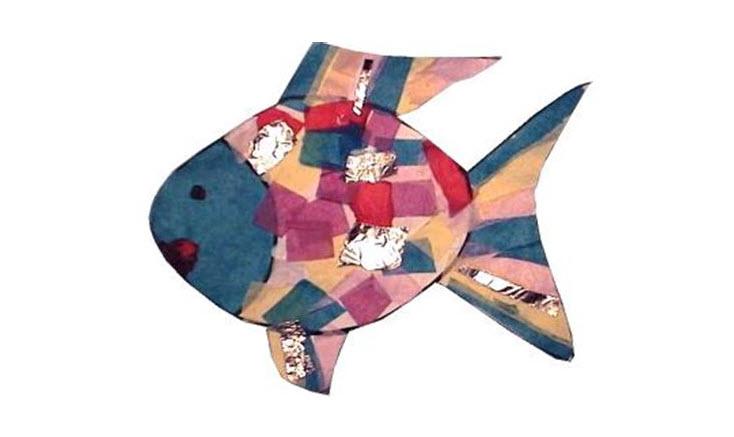 طرز ساختن ماهي رنگين كمان