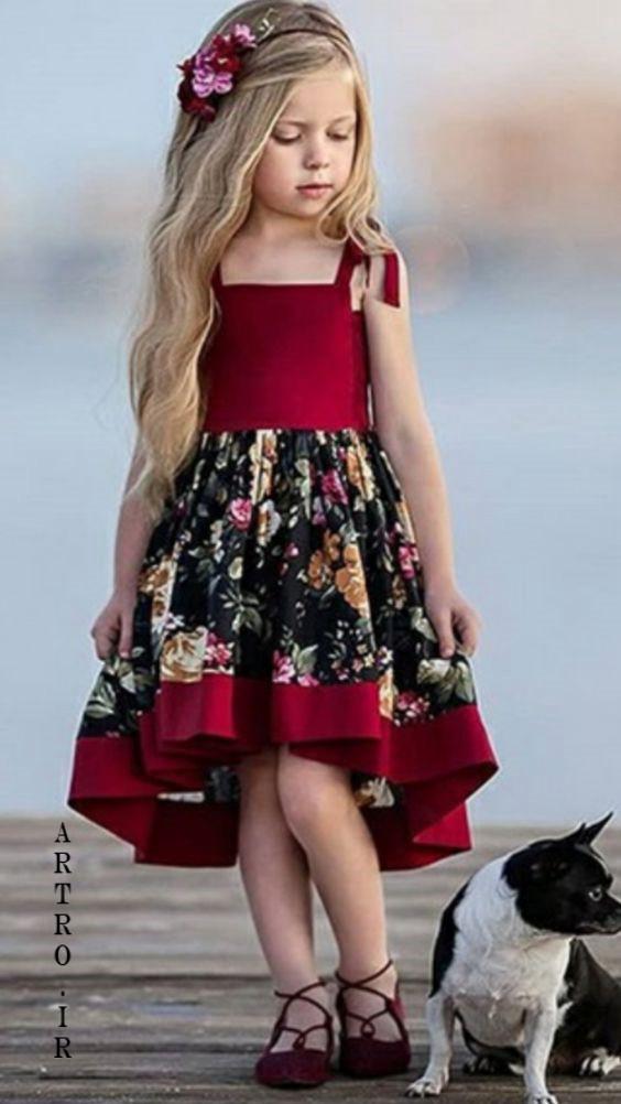 مدل لباس عید برای دختر بچه ها