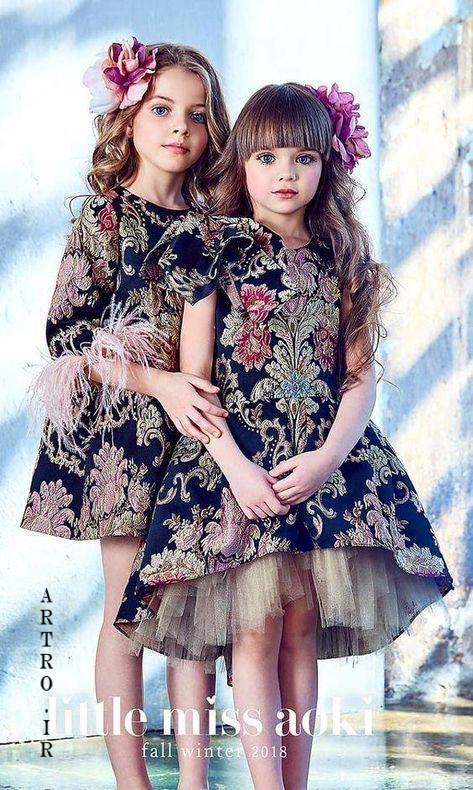 مدل لباس شب عید دختر بچه ها