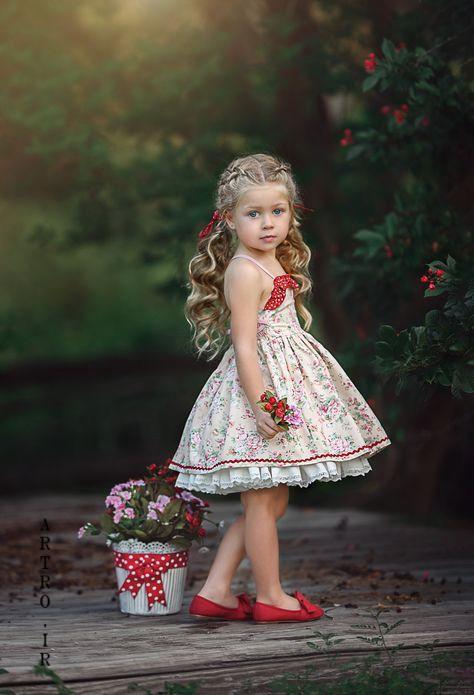 مدل لباس دختر بچه تابستانی