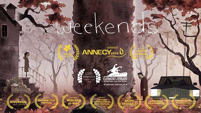انیمیشن کوتاه آخر هفته ها Weekends 2017